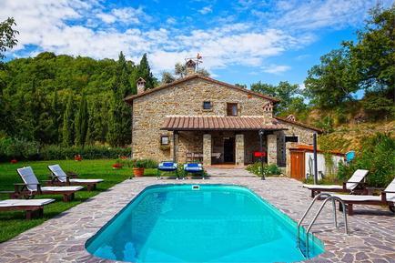 Gemütliches Ferienhaus : Region Arezzo für 10 Personen
