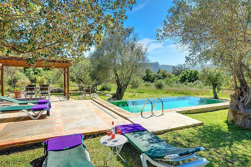 Ferienhaus mit Privatpool für 4 Personen in Pollença Mallorca Nordküste von Mallorca