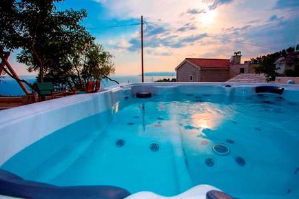 Gemütliches Ferienhaus : Region Makarska für 6 Personen
