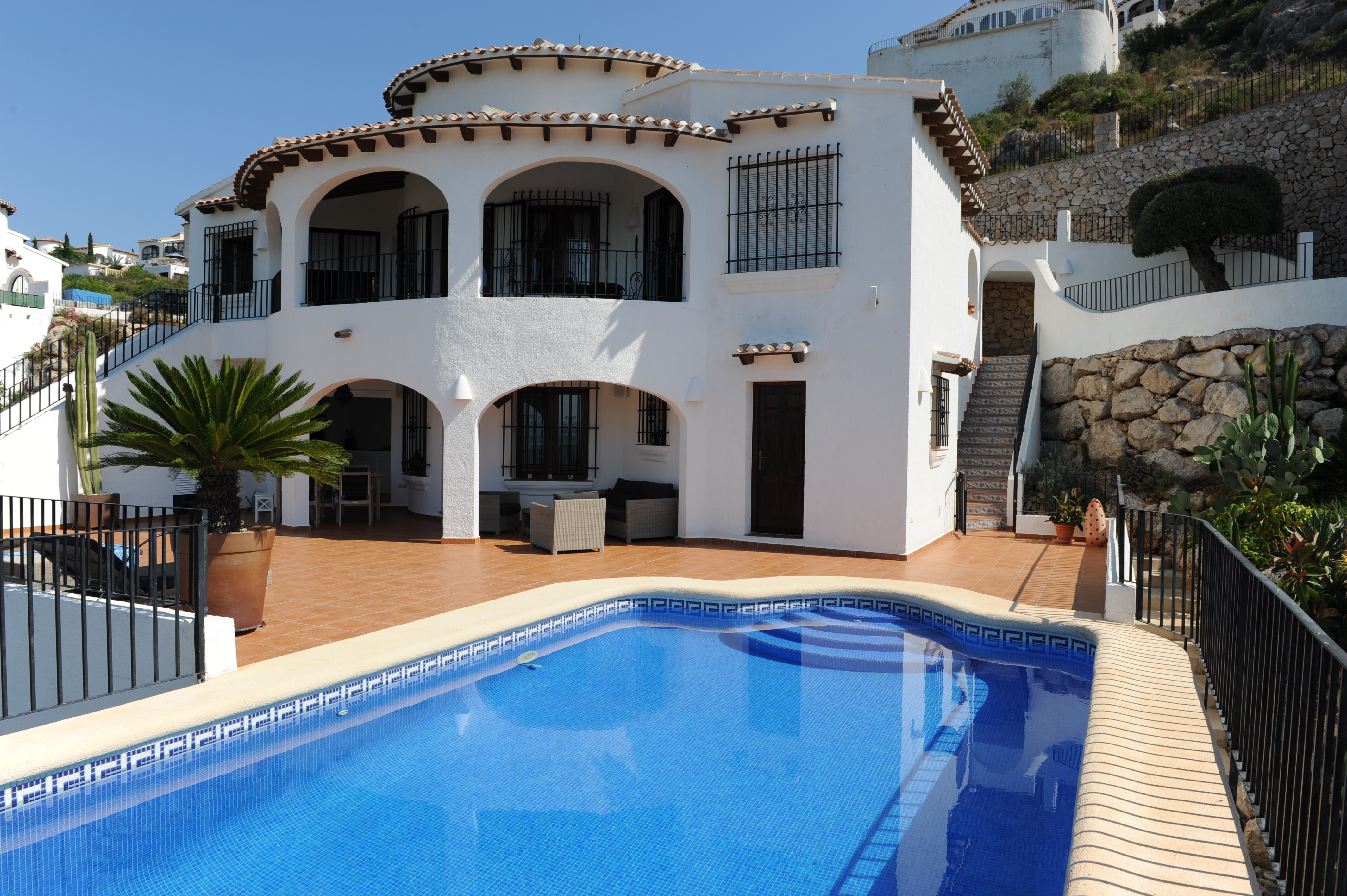 Ferienhaus mit Privatpool für 6 Personen ca.    Costa Blanca