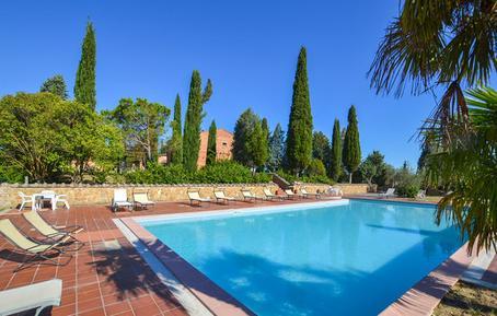 Gemütliches Ferienhaus : Region Montepulciano für 10 Personen