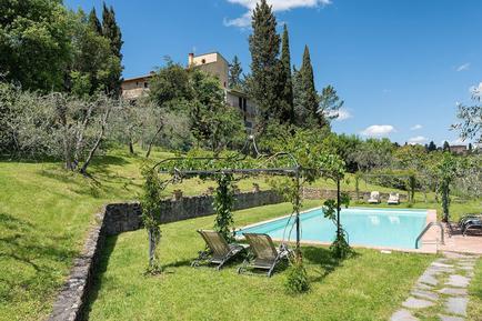 Gemütliches Ferienhaus : Region Barberino Val d'Elsa für 10 Personen