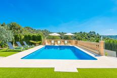 Holiday home 1225882 for 7 persons in Mancor de la Vall