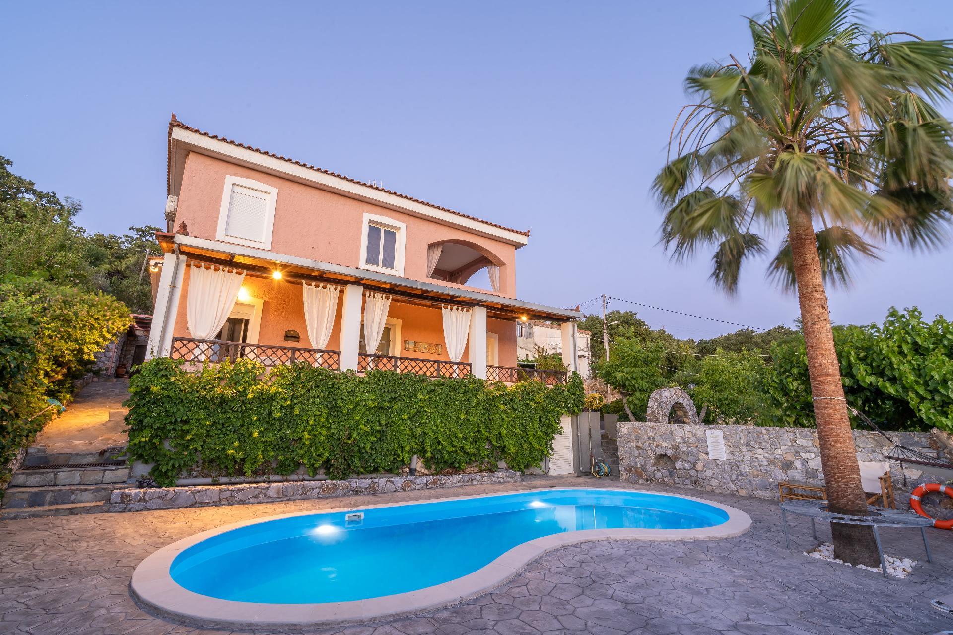 Ferienhaus mit Privatpool für 8 Personen  + 2   Rethymnon