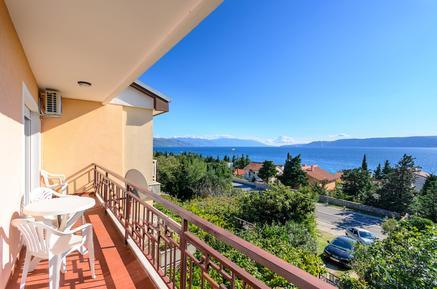 Für 6 Personen: Hübsches Apartment / Ferienwohnung in der Region Kvarner Bucht