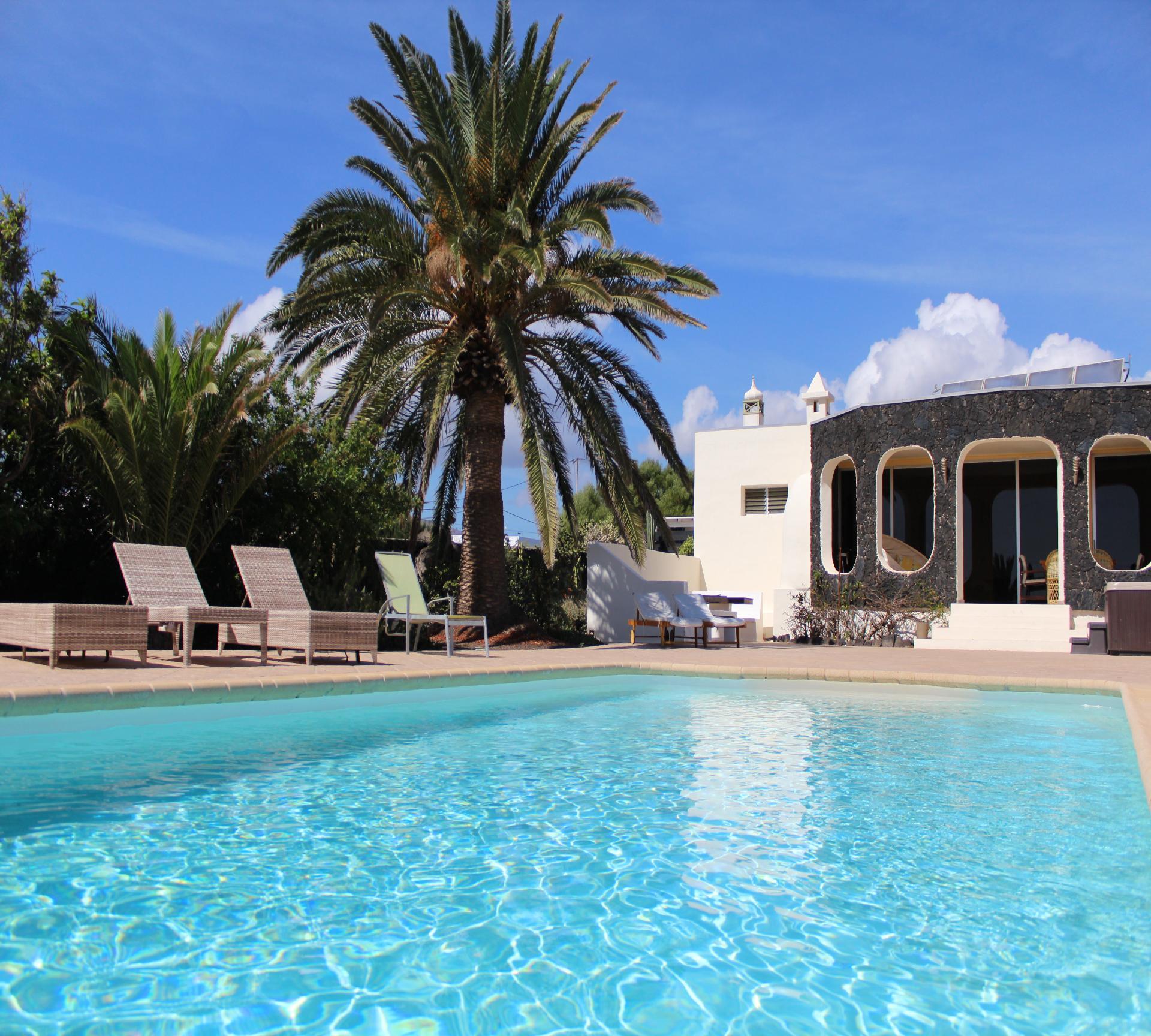 Ferienhaus für sechs Personen mit Terrasse, W   Lanzarote