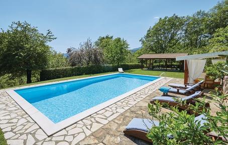 Gemütliches Ferienhaus : Region Toskana für 10 Personen
