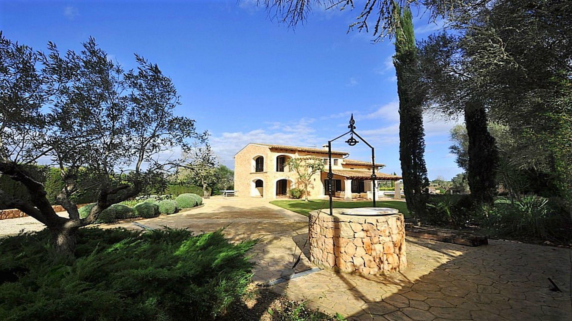 Ferienhaus mit Privatpool für 10 Personen ca 300 m² in Algaida Mallorca Binnenland von Mallorca