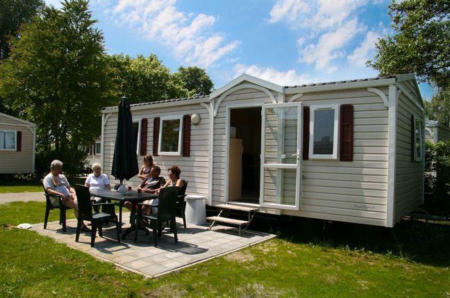 Mobilheim für 2 Personen 4 Kinder ca 30 m² in Baarland Zeeland Küste von Zeeland