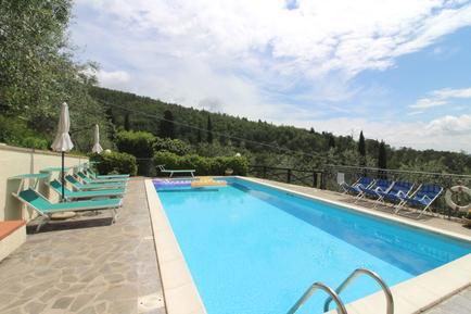 Gemütliches Ferienhaus : Region San Giustino Valdarno für 4 Personen