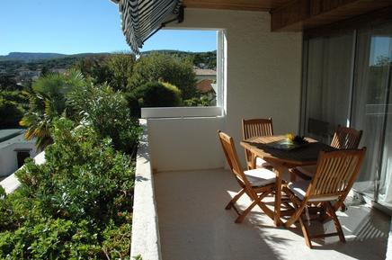 Für 4 Personen: Hübsches Apartment / Ferienwohnung in der Region Cassis
