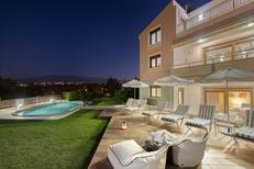 Rekreační dům 1264873 pro 6 dospělí + 2 děti v Galatas-Chania