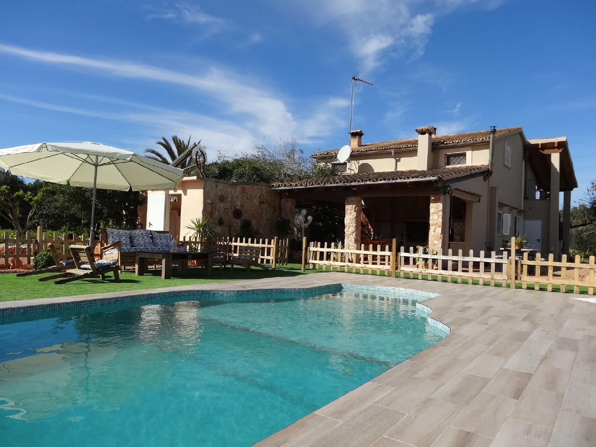 Ferienhaus mit Privatpool für 9 Personen ca 180 m² in Llucmajor Mallorca Südküste von Mallorca