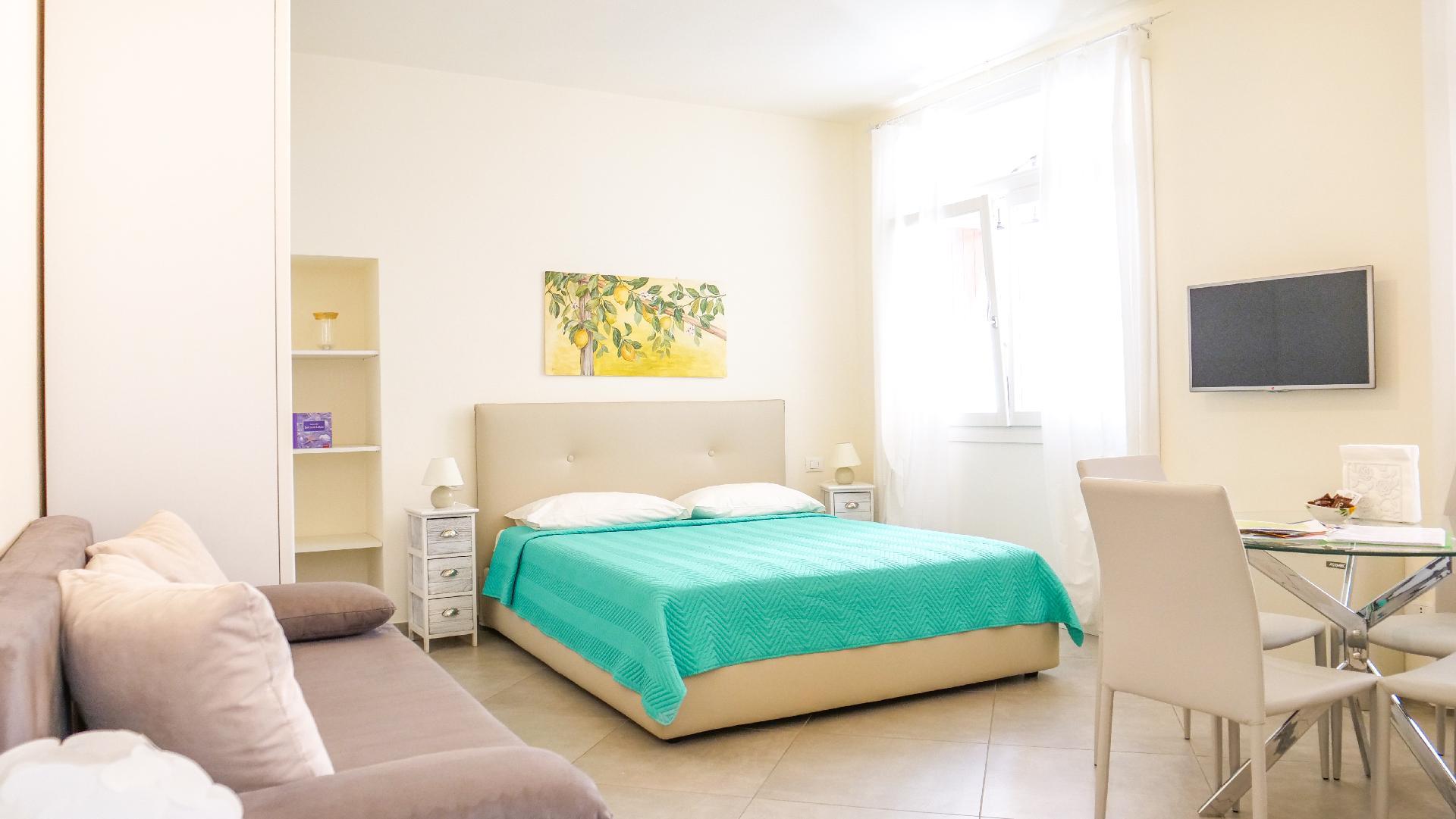 Studio für 2 Personen  + 1 Kind ca. 43 m²   Gardasee - Lago di Garda