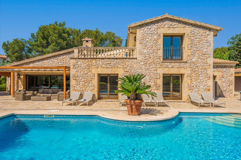 Ferienhaus mit Privatpool für 12 Personen ca.  in Spanien