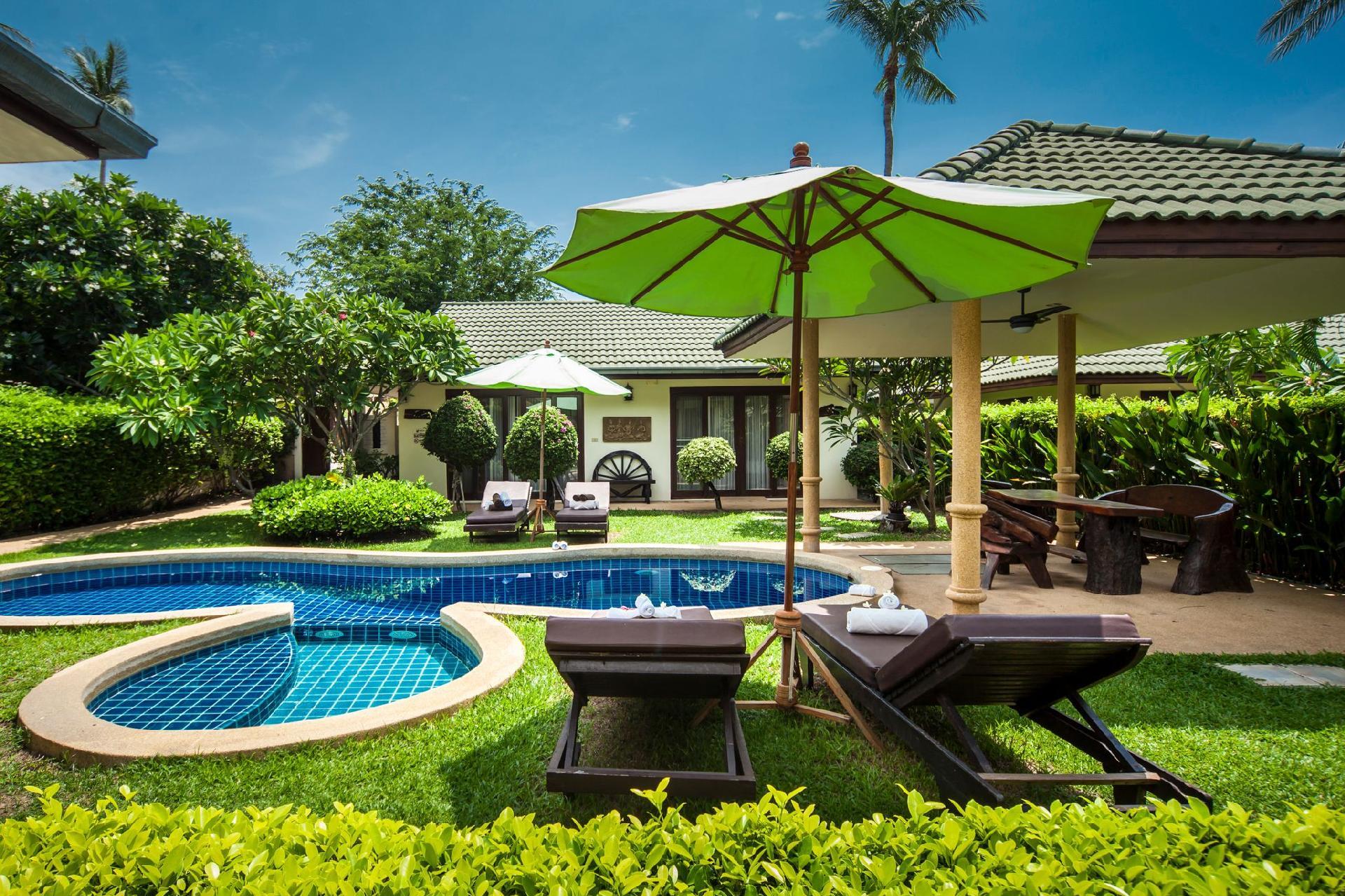 Ferienhaus mit Privatpool für 7 Personen ca.   in Thailand