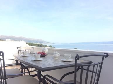 Für 8 Personen: Hübsches Apartment / Ferienwohnung in der Region Split