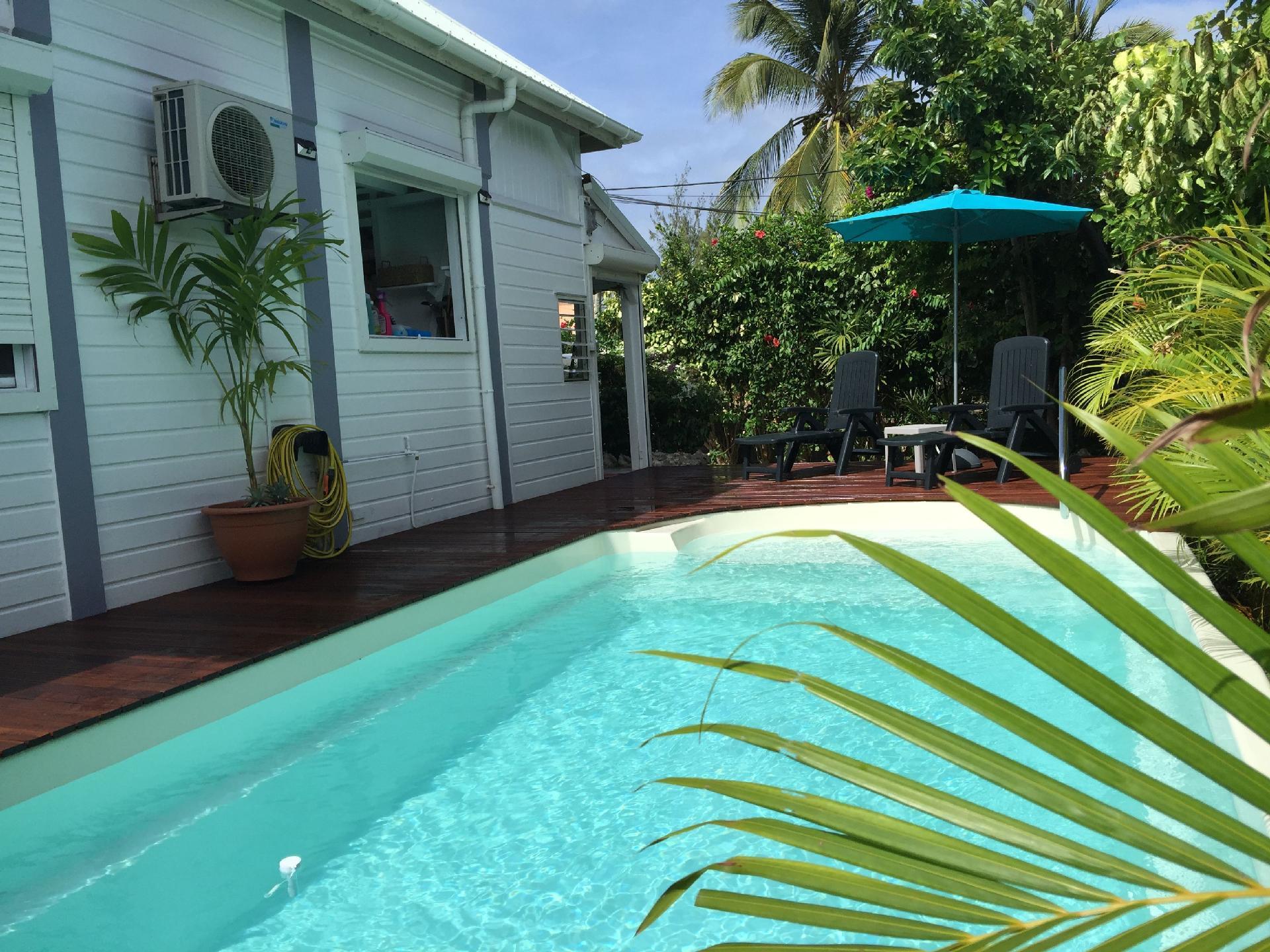 Ferienhaus mit Privatpool für 6 Personen ca.   in Guadeloupe