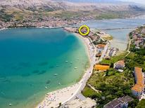 Studio 1297649 for 4 persons in Pag