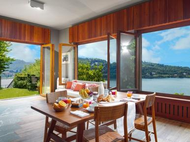Gemütliches Ferienhaus : Region Lago Maggiore für 9 Personen