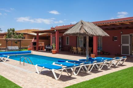 Gemütliches Ferienhaus : Region Caleta de Fuste für 10 Personen