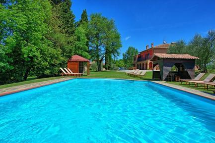 Gemütliches Ferienhaus : Region Toskana für 19 Personen