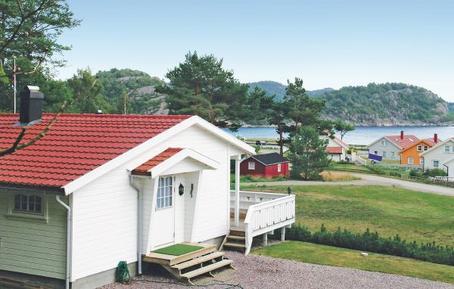 Gemütliches Ferienhaus : Region Vest-Agder für 4 Personen