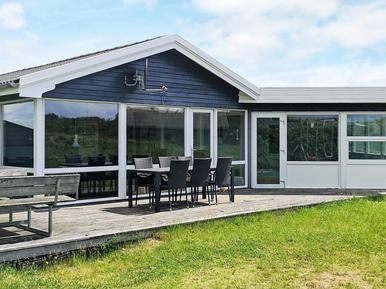 Gemütliches Ferienhaus : Region Sondervig für 8 Personen