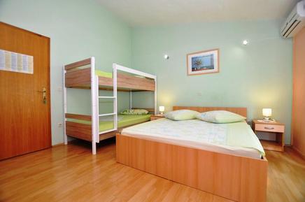 Für 3 Personen: Hübsches Apartment / Ferienwohnung in der Region Makarska