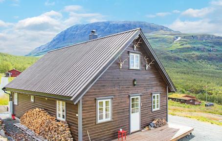 Gemütliches Ferienhaus : Region Oppland für 8 Personen