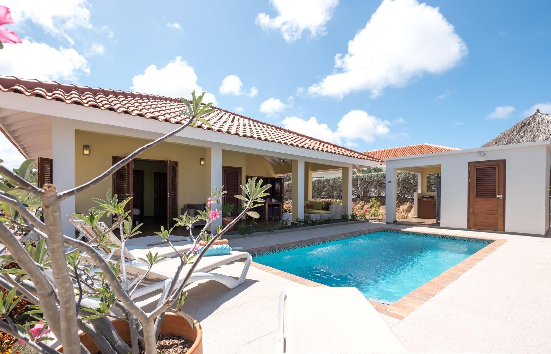 Ferienhaus mit Privatpool für 6 Personen  + 1