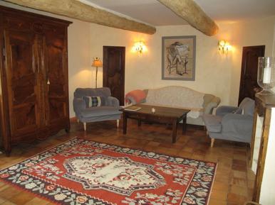 Gemütliches Ferienhaus : Region Provence für 8 Personen