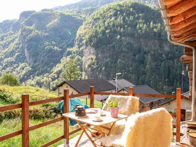 Gemütliches Ferienhaus : Region Graubünden für 3 Personen
