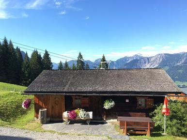 Gemütliches Ferienhaus : Region Montafon für 5 Personen