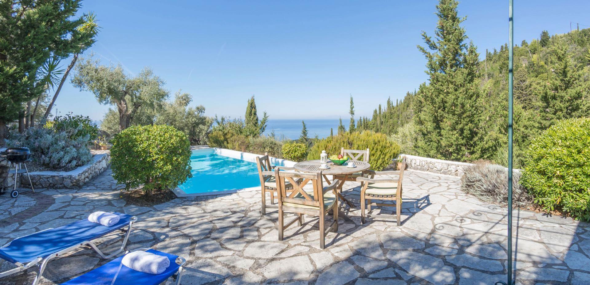 Ferienhaus mit Privatpool für 4 Personen  + 2  in Griechenland