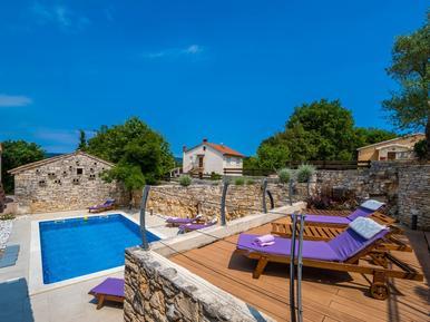 Gemütliches Ferienhaus : Region Istrien für 14 Personen