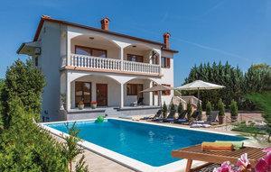 Gemütliches Ferienhaus : Region Istrien für 8 Personen