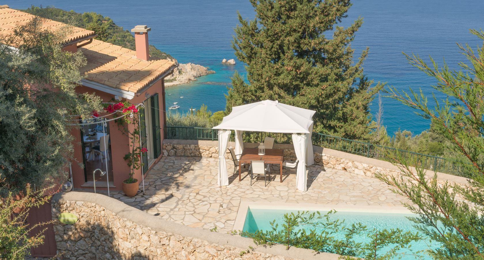 Ferienhaus mit Privatpool für 6 Personen ca.   in Griechenland
