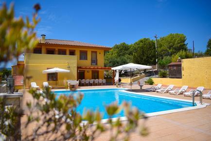 Gemütliches Ferienhaus : Region Costa-Dorada für 16 Personen