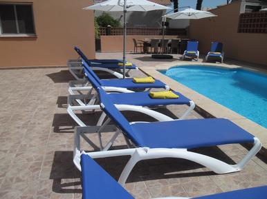 Gemütliches Ferienhaus : Region Corralejo für 10 Personen