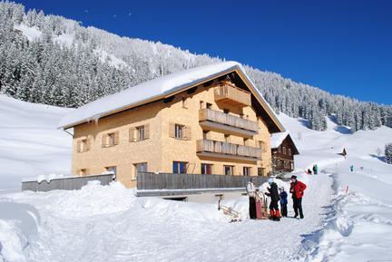 Gemütliches Ferienhaus : Region Vorarlberg für 50 Personen