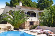 Holiday home 1336740 for 4 persons in Moraira