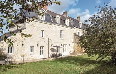 Gemütliches Ferienhaus : Region Loiretal für 8 Personen