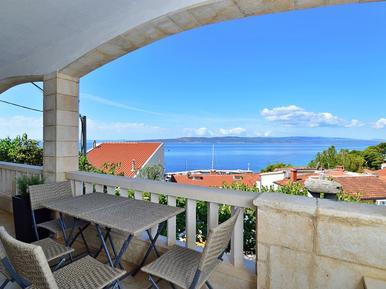 Gemütliches Ferienhaus : Region Makarska für 10 Personen
