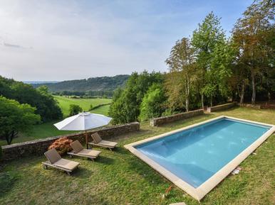 Gemütliches Ferienhaus : Region Aquitanien für 9 Personen