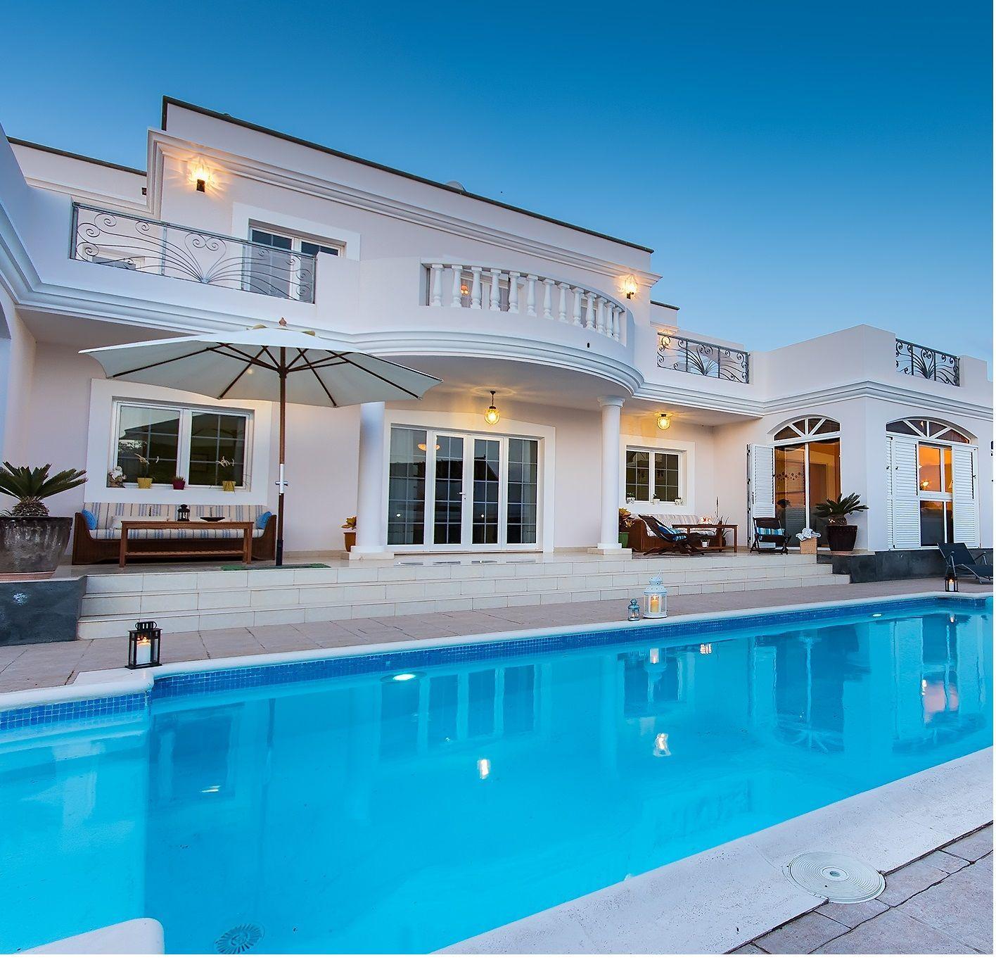 Ferienhaus mit Privatpool für 11 Personen  +    Lanzarote