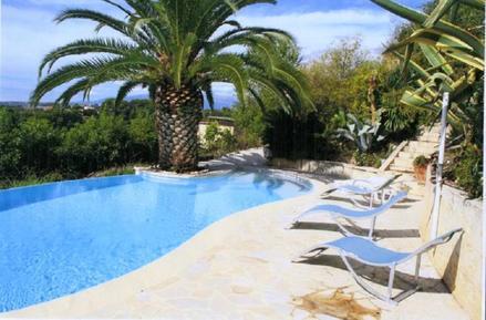 Für 4 Personen: Hübsches Apartment / Ferienwohnung in der Region Cagnes-sur-Mer