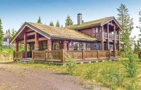 Gemütliches Ferienhaus : Region Hedmark für 10 Personen