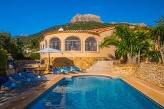 Holiday home 1362267 for 6 persons in Calpe