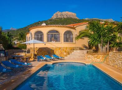 Gemütliches Ferienhaus : Region Costa-Blanca für 6 Personen
